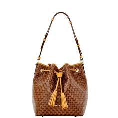 6adfe1c1dbb0 Dooney   Bourke Claremont Woven Drawstring Blue Handbags