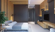 Private house - bedrooms and bathroom on Behance