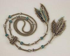 Unusual Beadwork Jewelry Tutorials - The Beading Gem& Jo. Seed Bead Jewelry, Pendant Jewelry, Beaded Jewelry, Handmade Jewelry, Lariat Necklace, Beaded Earrings, Beaded Bracelets, Necklaces, Seed Bead Tutorials