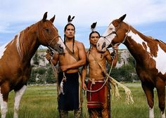 Lakota Sioux~one of the best natural horse people