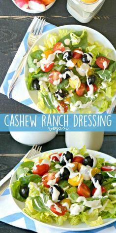 Cashew Ranch Dressing (Vegan)