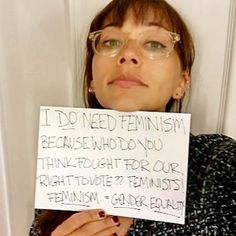 Glamour's Answer to #IDontNeedFeminism: #IDoNeedFeminism Rashida Jones
