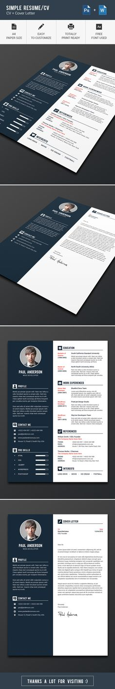 Simple-Resume CV-V4