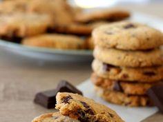 Recette Cookies au beurre de cacahuète et Chocolat Noir (Cookie)