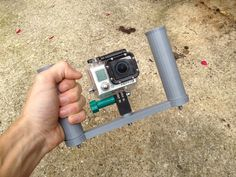GoPro Stab Hand by Datheus http://thingiverse.com/thing:569639