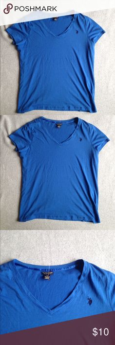 NWOT U.S. POLO ASSIN royal blue tee Item is in great condition. Stored in a smoke free home. No rips, tears, holes, snags. Or stains. U.S. Polo Assn. Tops Tees - Short Sleeve