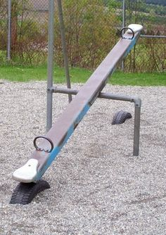 Teeter Totter   I like the tire idea