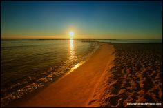 Sunrise in Barcelona Beach