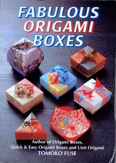 Origami Boxes by Tomoko Fuse - Education