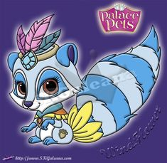 New Disney Princess Palace Pet Coloring page of Windflower | SKGaleana