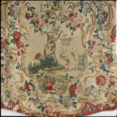 Upholstery Panels (4). Jean-Baptiste Oudry (French, Paris 1686-1755 Beauvais). Gift of John D. Rockefeller Jr., 1935. Met Museum.