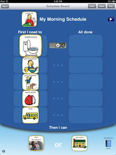 Choiceworks: Special Needs App. Helps special needs kids with schedules, having to wait, and feelings. Teaching Tools, Teaching Resources, Apps, Schedule Board, Special Needs Mom, Visual Schedules, Therapy Activities, Daily Activities, Therapy Ideas