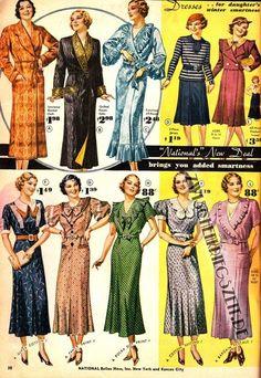 National Bellas Hess winter 1933-1934