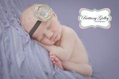 Purple Newborn   Brittany Gidley Photography LLC