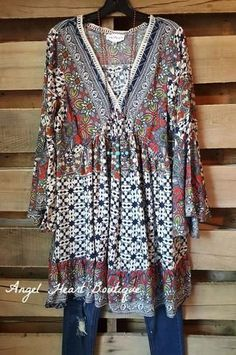 Shop our vast selection of our boho women's plus size boutique dresses and tunics offered at an affordable price from sizes Shop our curvy section here: Click Visit link above for more info Plus Size Fashion For Women, Plus Size Womens Clothing, Latest Fashion For Women, Plus Size Outfits, Clothes For Women, Womens Fashion, Female Clothing, Size Clothing, Ladies Clothes