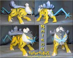 Paperpokés- Pokémon Papercrafts: RAIKOU