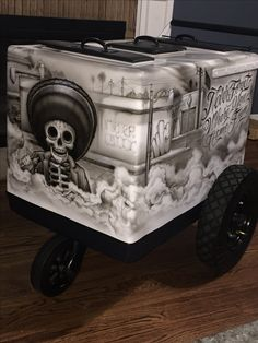 Cartoon x cazadores tequila custom paleta cart