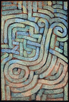 Paul Klee - Mosaic-Like, (1932(