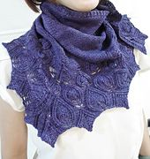 The Rev triangle shawl from Kitman Figeuroa