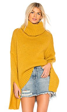 f92d9b17e One Teaspoon Winona Keyhole Sweater in Mustard