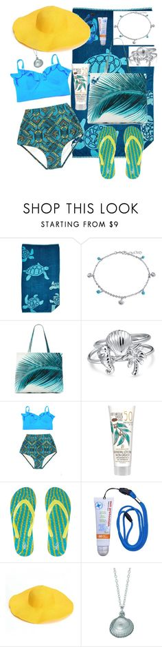 """""""Cool Off"""" by loveisablindwar on Polyvore featuring Northpoint, Bling Jewelry, Amuse Society and Chupi"""