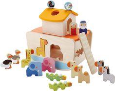 Sevi Steckwürfel Noahs Arche » Sortier-, Stapel- & Steckspielzeug - Jetzt online kaufen | windeln.de