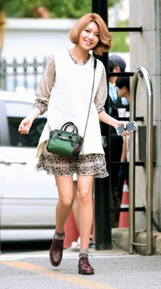 SNSD SooYoung. #streetstyle