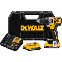 Price:       (adsbygoogle = window.adsbygoogle    []).push();  The DEWALT DCD791D2 20V MAX XR Li-Ion 1/2″ Compact Drill/Driver Kit (2.0Ah) features a DEWALT brushless motor which delivers up to 57% more run time over brushed. The XR Li-Ion batteries with fuel gauge provide 33% more...
