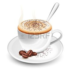 Buy Cup of hot cappuccino by tilo on GraphicRiver. Cup of hot cappuccino with foam and spoon. file, transparency for shaddows and smoke. Coffee Png, Coffee Milk, Hot Coffee, Coffee Shop, Coffee Cups, Coffee Cream, Coffee Beans, Coffee Clipart, Coffee Vector