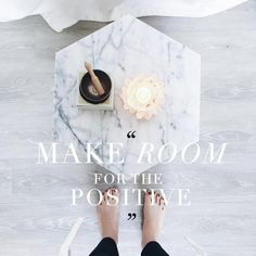 Do you make enough room for the positive? Try this energy cleanse to reset your mind + body!
