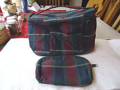 """Vintage Multi-Purpose Carry All Bag With Pocket Book """" BEAUTIFUL SET """" #vintage #collectibles #clothing"""