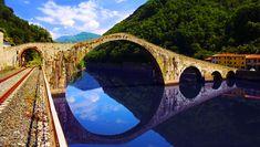 <p>Ponte del Diavolo, Borgo a Mozzano, Tuscany - 20 real life fairy tale places in Italy</p>