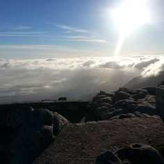 Top of Table Mountain. Climbed and reached  07:30.