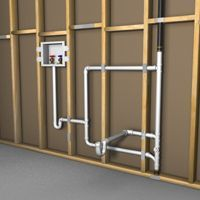 Simple Solutions To Problems With Your Plumbing – Plumbing Plumbing Drains, Bathroom Plumbing, Plumbing Pipe, Bathroom Fixtures, Water Plumbing, Bathrooms, Laundry Room Sink, Basement Laundry, Basement Bathroom