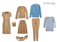 Camel, Terra Cotta and Blue: A Travel Capsule Wardrobe based on Hermes Farandole | The Vivienne Files