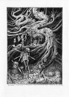 John Blanche - Voodoo Forest