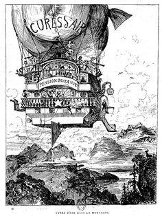 Le Vingtième Siècle by Albert Robida