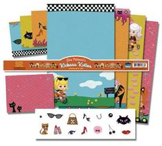 DHorse Deluxe Stationery Exotique: Lisa Petruccia's Kick-Ass Kuties