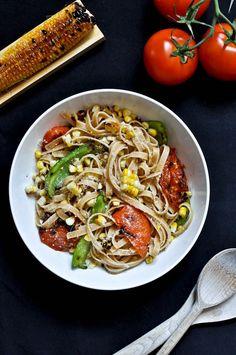 Tofu pasta noodles recipe