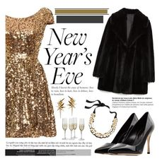 """""""New Years Eve, New Years You"""" by sweet-jolly-looks ❤ liked on Polyvore featuring Zara, Sergio Rossi, Ludevine and J.Crew"""