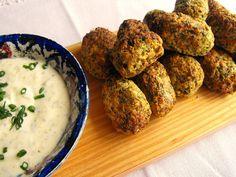 As receitas lá de casa: Bolinhos de brócolos na Actifry