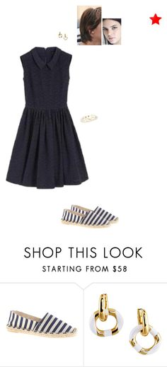 """Sem título #4793"" by gracebeckett on Polyvore featuring moda, J.Crew e Kate Spade"