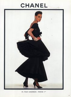 Chanel 1987 Evening Gown