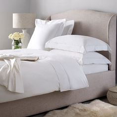 Biarritz Bed Linen Collection | The White Company