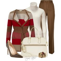 Work Fashion Outfits 2012 | Candy Apple Red | Fashionista Trends