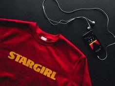 The Weeknd Red and Black Stargirl sweatshirt Weeknd