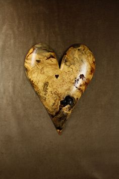 Personalized Wedding Anniversary Gift Heart by TreeWizWoodCarvings, $435.00