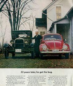 VW Bug Ad 1963
