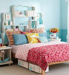 Drawers + bed = uow! | Gavetas + cama = uau!