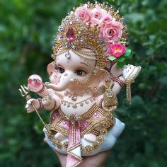 Shri Ganesh Images, Ganesha Pictures, Krishna Images, Baby Ganesha, Ganesha Art, Ganesh Rangoli, Lord Ganesha Paintings, Lord Shiva Painting, Krishna Painting